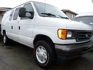 2007 Ford E-250 Super Duty Cargo Van