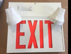 emergency exit light sign ex10w-p/2m