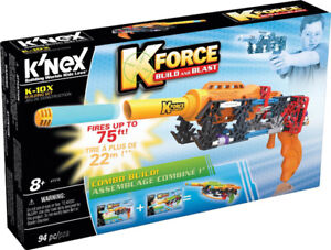 NEW: Knex K-Force K-10X Building Set (Customize your blaster) -