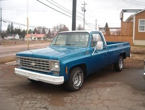 REDUCED BY $2400 TRADES OK 1976 CHEVROLET C10