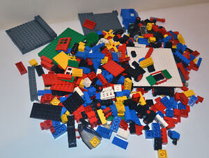 Lego Starter Lot Wheels Windows Door Baseplates Bricks LOOK!