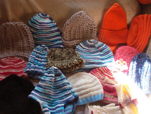 NEW Knitted kids,and adult caps $3.00 ea can deliver