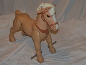 Vintage 60s  Marx Marvel The Mustang Horse Ride On Peterborough Peterborough Area image 3