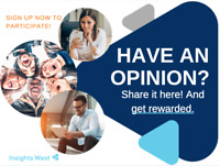 Share your opinions and earn cash