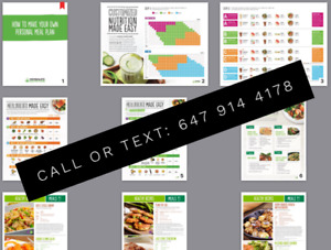HERBALIFE Guide Meal Planner 10 Pages Booklet