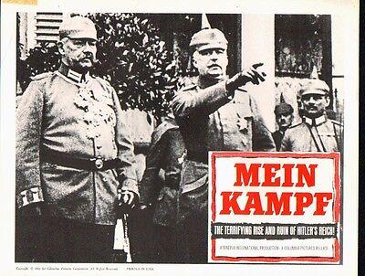 FIELDMARSCHALL VON HINDENBURG/GENERAL LUDENDORFF original 11x14 LobbyCard poster