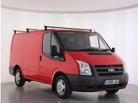 2008 Ford Transit Low Roof Van TDCi 130ps Diesel red Manual