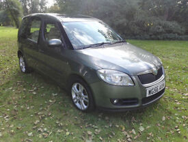 Skoda Roomster 1.9TDI PD ( 105bhp ) 3 FULL SERVICE HISTORY HPI CLEAR