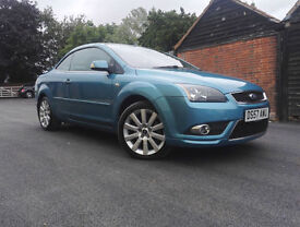 Ford Focus CC 2.0TDCi 2007 57 CC-3 ONLY 51000 MILES LEATHER TRIM NEW MOT