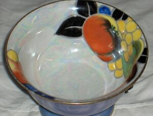 Noritake M Morimura handpainted made in Japan fluted bowl 1920's West Island Greater Montréal image 6