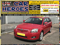 2007 TOYOTA AVENSIS 2.0 VVT-i AUTO T-SPIRIT SAT NAV * 12 MONTH WARRANTY INCLUDED