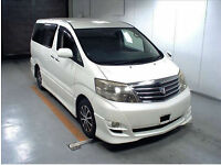 FRESH IMPORT 2006 FACE LIFT TOYOTA ALPHARD ESTIMA 3.0 VVTI AUTO AUCTION GRADE 4