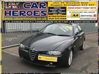 2004 ALFA ROMEO 156 2.4 JTDM 20V M-JET TI SPORTS + BLACK Ti LEATHER + Ti ALLOYS