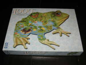 Prince of the Pond 1000 pc Shaped PUZZLE by F.X. Schmid