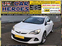 2015 VAUXHALL ASTRA GTC 1.4i TURBO LIMITED EDITION + 12 MONTH WARRANTY INCLUDE