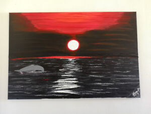 Art for Sale/ I am the artist of the paintings.