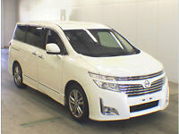 FRESH IMPORT NEW SHAPE NISSAN ELGRAND HIGHWAY STAR 2.5 V6 FOUR WHEEL DRIVE AUTO