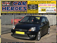 2008 FORD FIESTA 2.0 ST 140BHP 3 DR + 12 MONTH WARRANTY INCLUDED