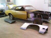 For Sale 1970 Mercury Cougar Project Car Resto Started
