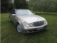 2003 53 Mercedes-Benz E270 2.7TD auto CDI Elegance 1 OWNER PAN ROOF