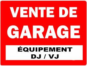 Vente de Garage (Équipement DJ/VJ)