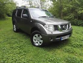 Nissan Pathfinder 2.5dCi 174 SPORT 2006 GREAT WORK HORSE 7 SEATS HPI CLEAR