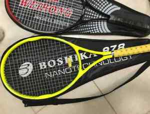 Two Tennis Racquets with 6 Balls London Ontario image 2