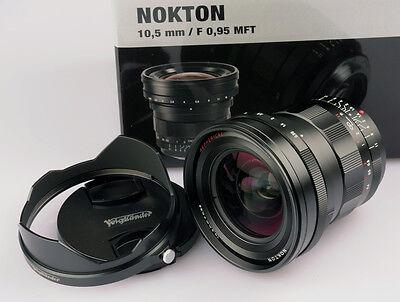New Voigtlander 10.5mm f/0.95 ASPH Nokton M43 Micro 4/3 Mount FREE NEXT DAY USA