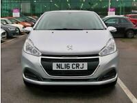 2016 Peugeot 208 1.0 PureTech Active 5dr Hatchback Petrol Manual