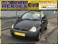 2005 FORD KA DESIGN BLUE EDITION 1.3 * 12 MONTH WARRANTY INCLUDED