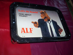 lot Alf 1987 lap sick tray...blanket bedspread...curtain drape