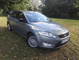 2007 57 Ford Mondeo 1.8TDCi 125 6sp Zetec ESTATE SORRY NOW SOLD ,