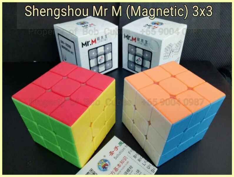 >> Shengshou Mr M (Magnetic) 3x3 for sale in Singapore