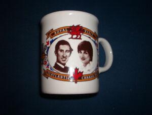 1983 Royal Visit Charles & Diana   mug $5.00