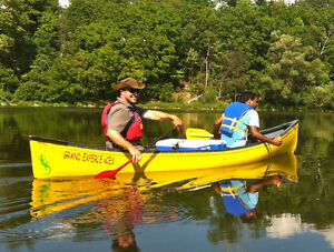 1 yr old 16 ft, Canoe with lower price London Ontario image 8