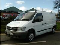 Mercedes-Benz Vito 2.2 110CDI£2,000 +VAT 1 OWNER FROM NEW 2002 (02 reg), Panel V