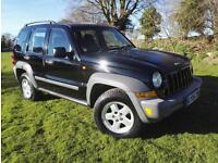 2006 Jeep Cherokee 2.8TD ( 161bhp ) 4X4 Auto Sport VERY CLEAN CAR HPI CLEAR