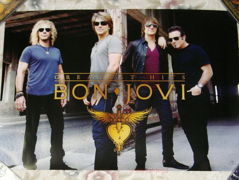 Bon Jovi The Greatest Hits 2010 Taiwan Promo Poster