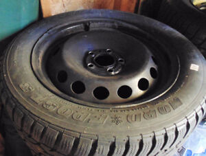 4x 205/55r16 Gislaved Nord Frost 3 winter tires/pneus d'hiver