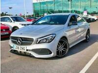 2018 Mercedes-Benz CLA COUPE CLA 180 AMG Line 4dr Coupe Petrol Manual