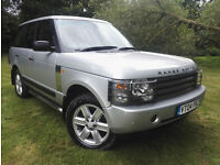 RANGE ROVER 3.0 Td6 2004 Vogue SE 1 PREVIOUS OWNER INC 6 MONTH RAC WARRANTY