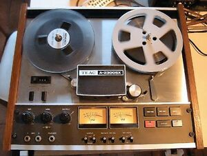 Nice Vintage TEAC A-2300SX Reel to Reel Stereo Tape Deck Working