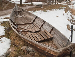 Old Wooden Rowboat - ANY condition