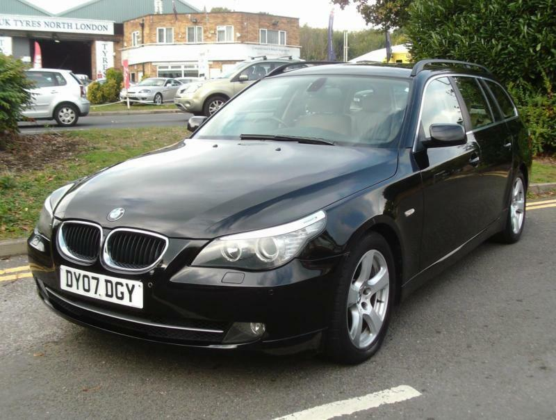 BMW 5 Series 2.0 520d SE Touring 5dr£5,000 NO FINANCE PROPOSAL REFUSED 2007 (07