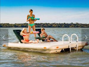 Island Swim Raft