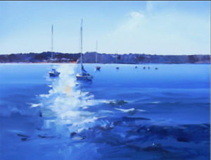Beautiful hand-painted Oil Paintings of your Boats & Watercraft