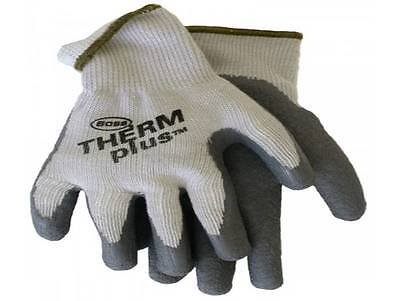Boss Gloves 8435s Mens Therm Plus String Knit Work Gloves S, M, L & Xl
