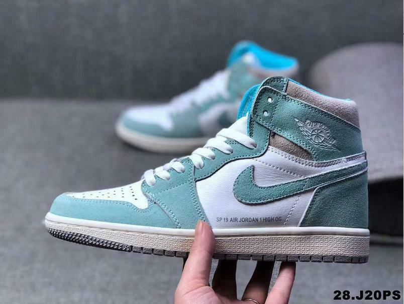 AIR NIKAir Jordan 1 Turbo GreenHigh Top Basketball Turnschuhe AJ