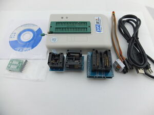 NEW Universal USB Programmer EEPROM Flash SPI BIOS 24/25/BR90/93 5000+ CHIPS