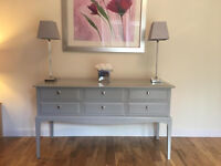 ***SOLD***Vintage STAG Minstrel 6 drawer dressing/console table